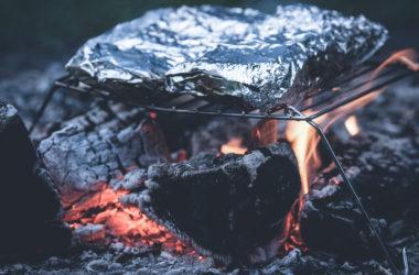 たっぷりたまねぎポン酢の使い方 / 鮭のホイル包み焼き
